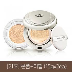 공진향 미백 수분 광 쿠션 21호 본품+리필(SPF 50+ PA+++)